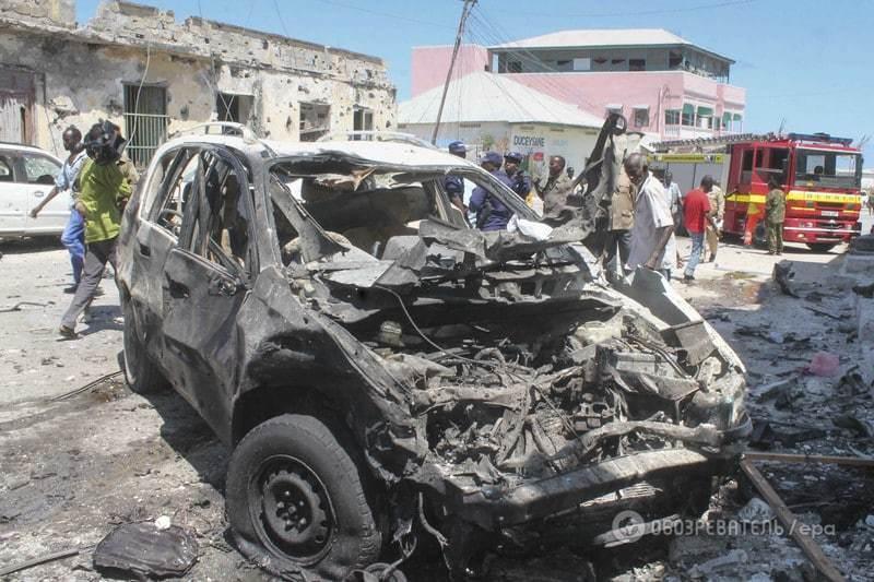 Исламисты устроили теракт возле отеля в столице Сомали: погибли 10 человек