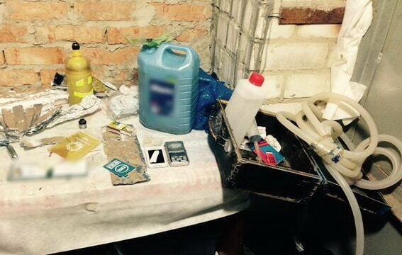 В Киеве полиция обнаружила наркотики на 1,5 млн грн