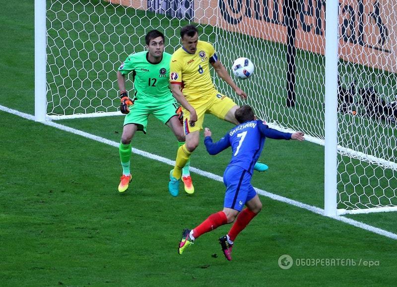 Евро-2016. Франция обыграла Румынию в матче-открытии