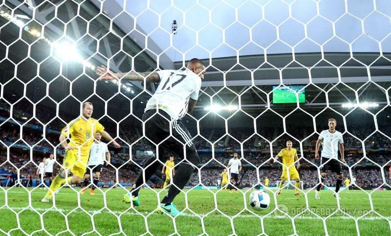 Євро-2016. Збірна України програла Німеччині