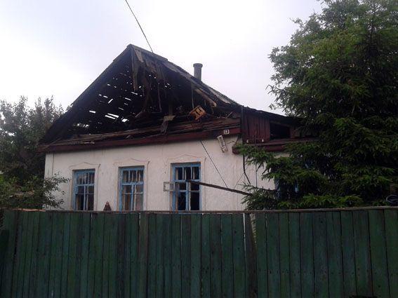 """Террористы """"ДНР"""" обстреляли дома мирных жителей, погибла женщина"""