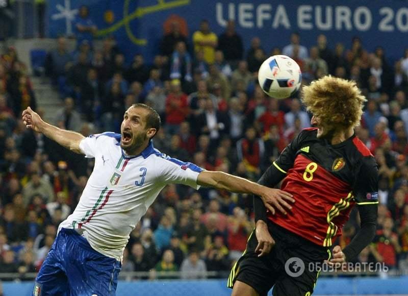 Евро-2016. Италия красиво разобралась с многообещающей Бельгией