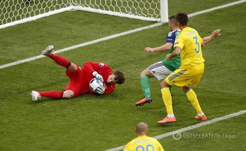 Евро-2016. Украина сенсационно проиграла Северной Ирландии