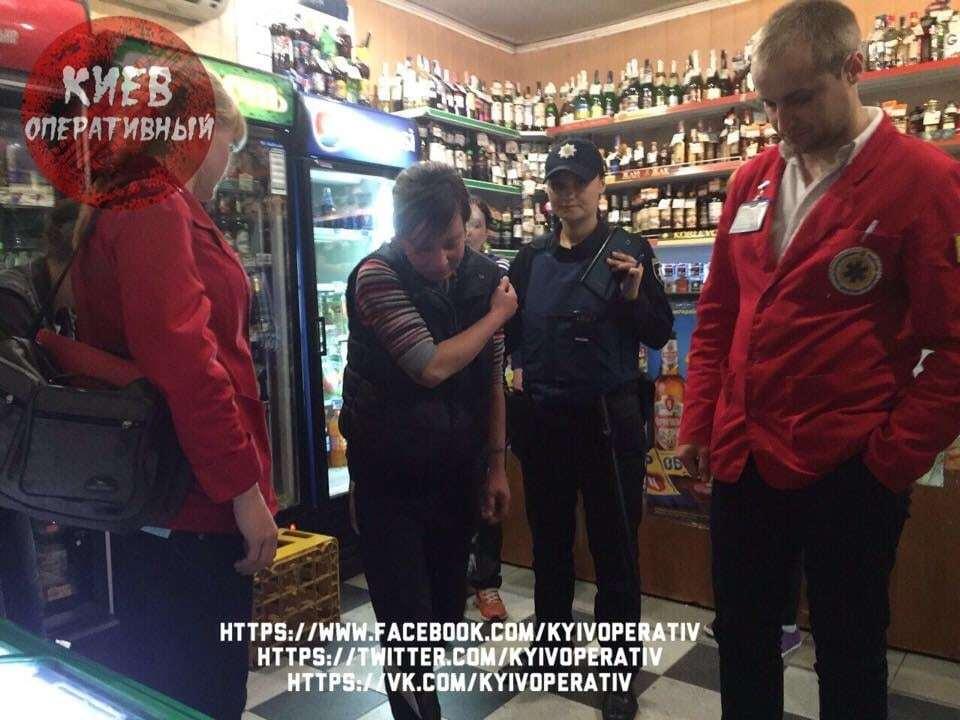 В Киеве грабитель избил беременную женщину