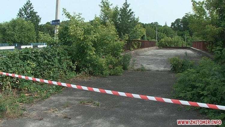 В Житомирской области снаряд подорвал мост