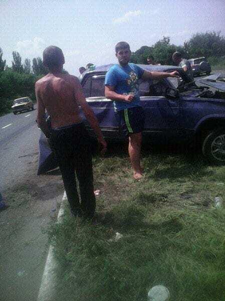 Чудом не взорвалось: пьяный террорист устроил ДТП на Донбассе