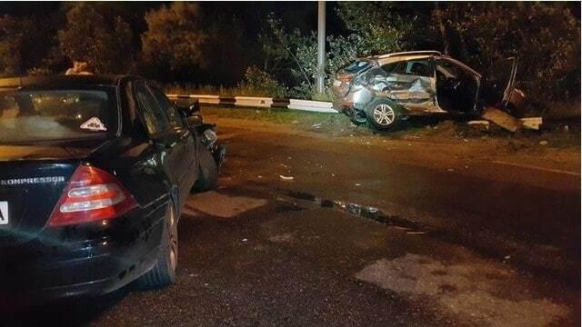 Серьезное ДТП в Киеве: девушка на Hyundai врезалась в авто с двумя детьми