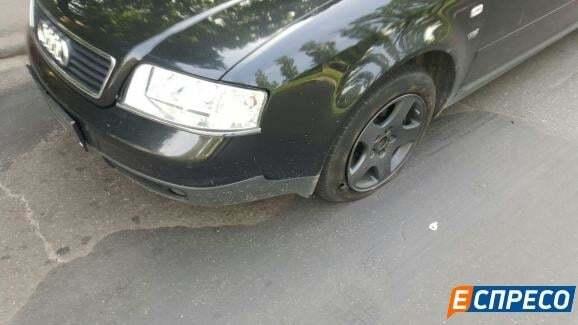 У Києві на гарячому спіймали викрадачів авто: фотофакт