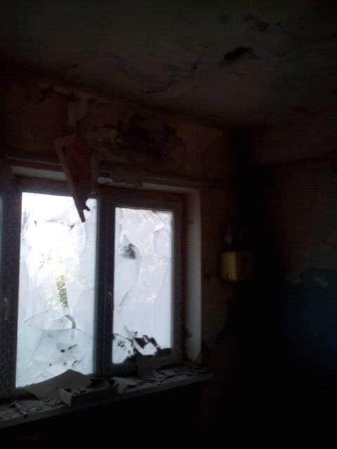 Появились фото обстрела террористами Красногоровки