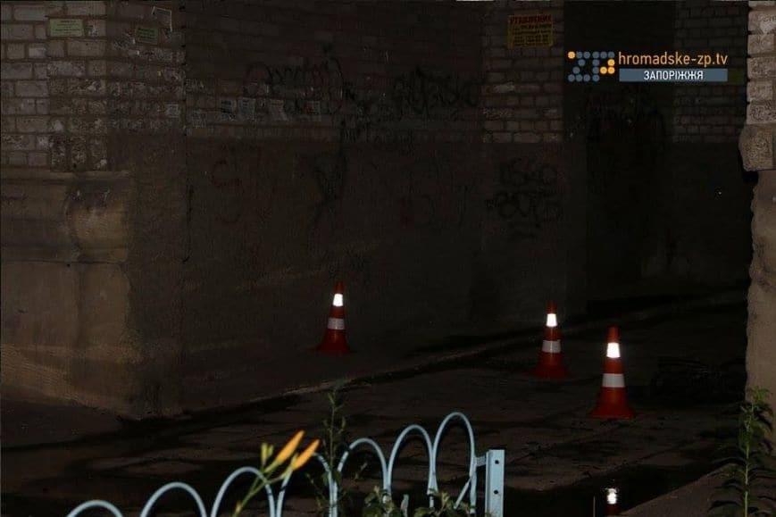 В центре Запорожья произошли взрывы и стрельба