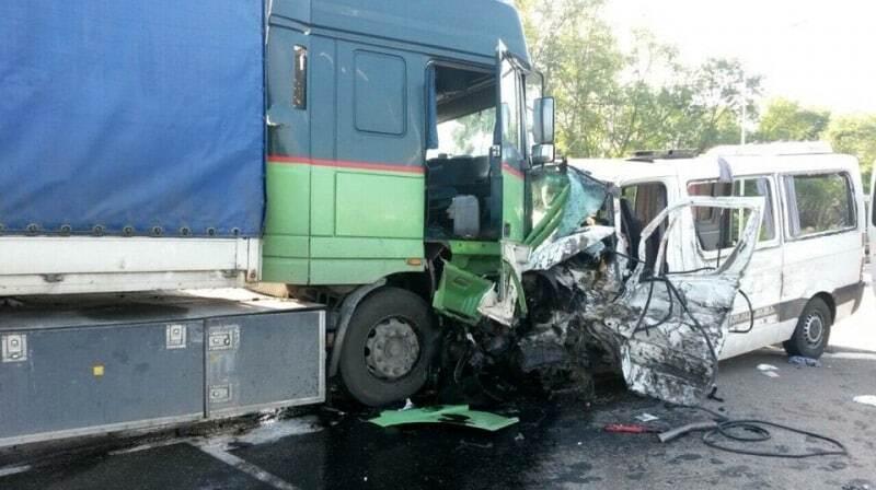 В России в страшной аварии погибли пятеро украинцев