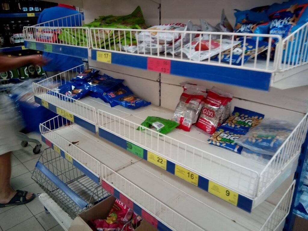 Порожні полиці магазинів і величезні затори: у Генічеську настав туристичний апокаліпсис