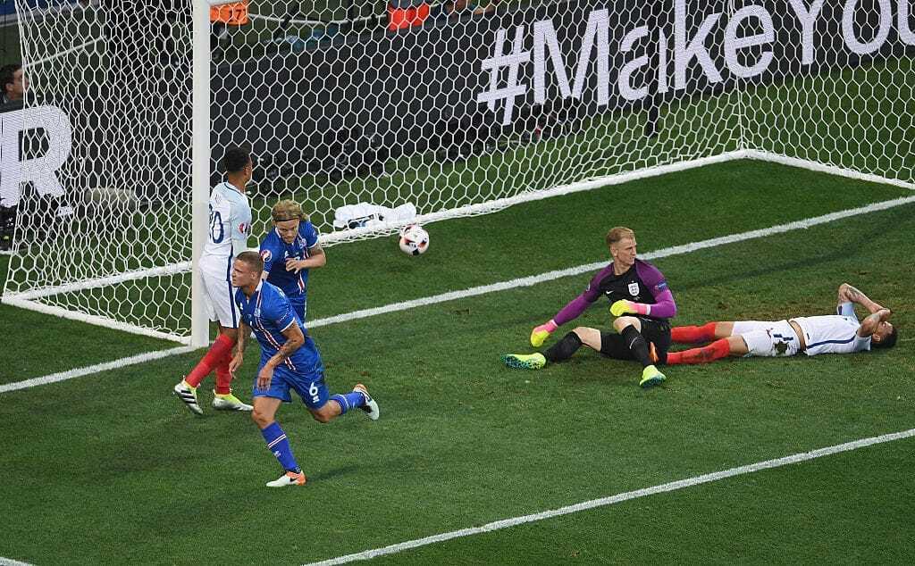 Евро-2016. Исландия сотворила главную сенсацию чемпионата, выбив Англию