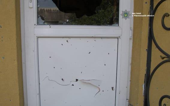 На Ривненщине во двор частного дома подбросили взрывчатку
