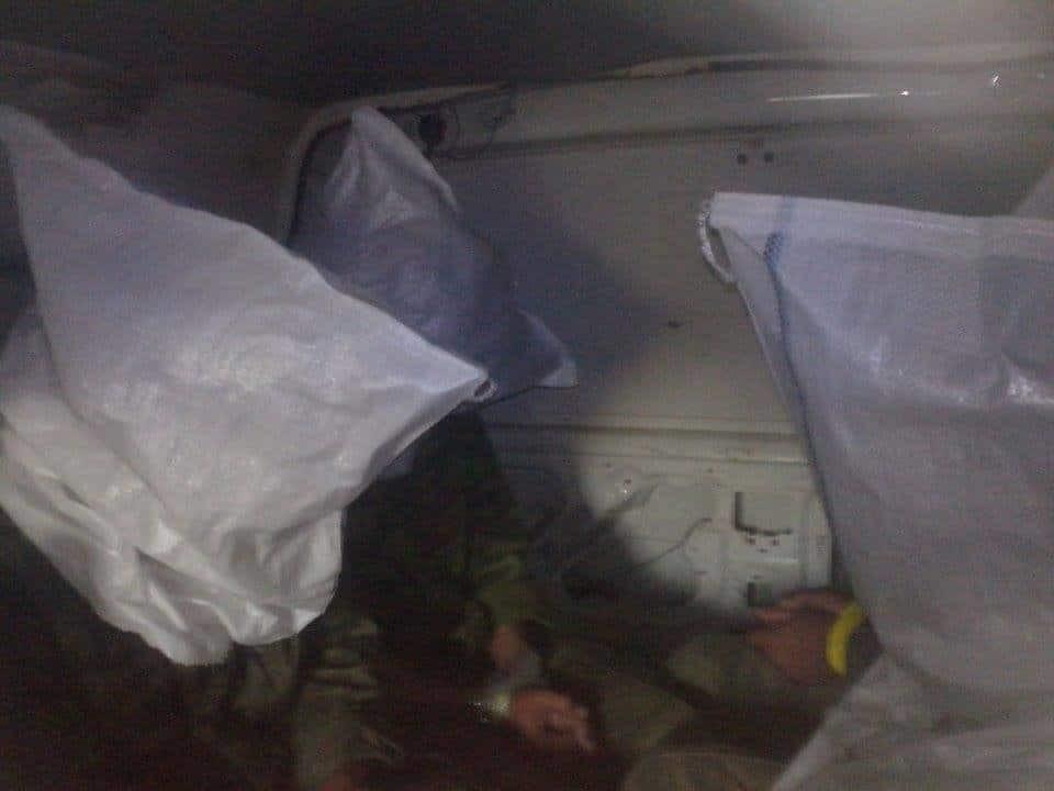 Спецоперация в районе Широкино: в сети появилось фото захваченных в плен террористов