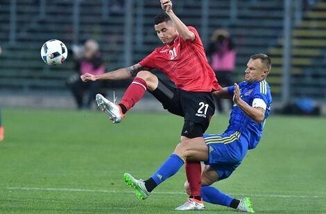 Сборная Украины обыграла Албанию в последнем матче перед Евро-2016