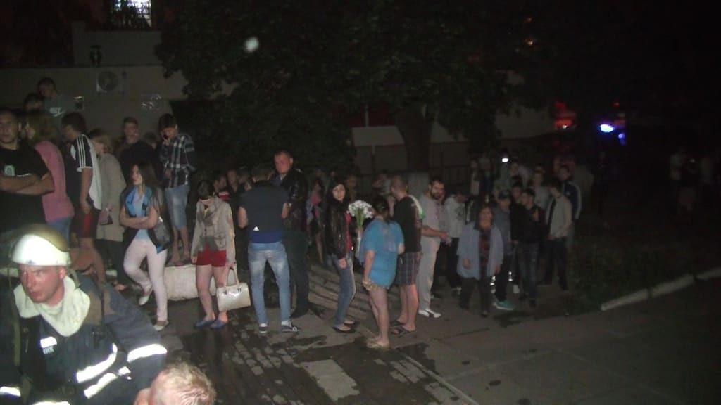 В Харькове горело 9-этажное общежитие: эвакуировали 84 человека