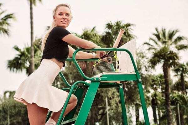 Знаменитая теннисистка снялась в изящно-эротичной фотосессии