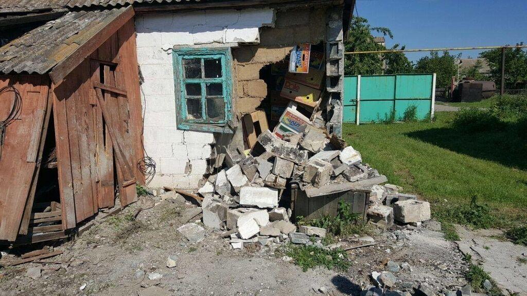 """""""Минометный дождь"""": террористы разбомбили мирное село на Донбассе"""