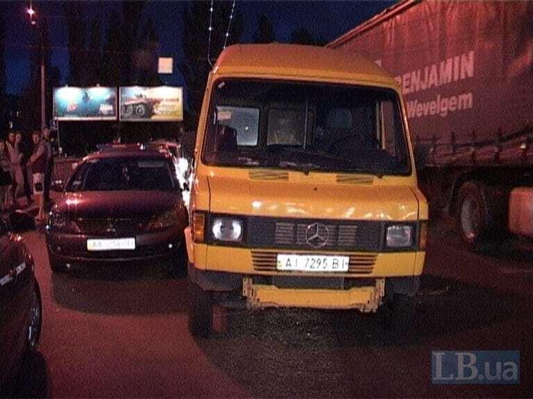 Разборки водителей в Киеве: появилось видео с места стрельбы