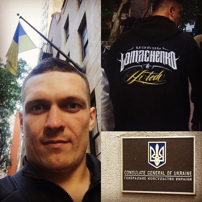 """""""Пошарпали Спайдермена"""". Ломаченко показав, як із Усиком готується до чемпіонського бою"""