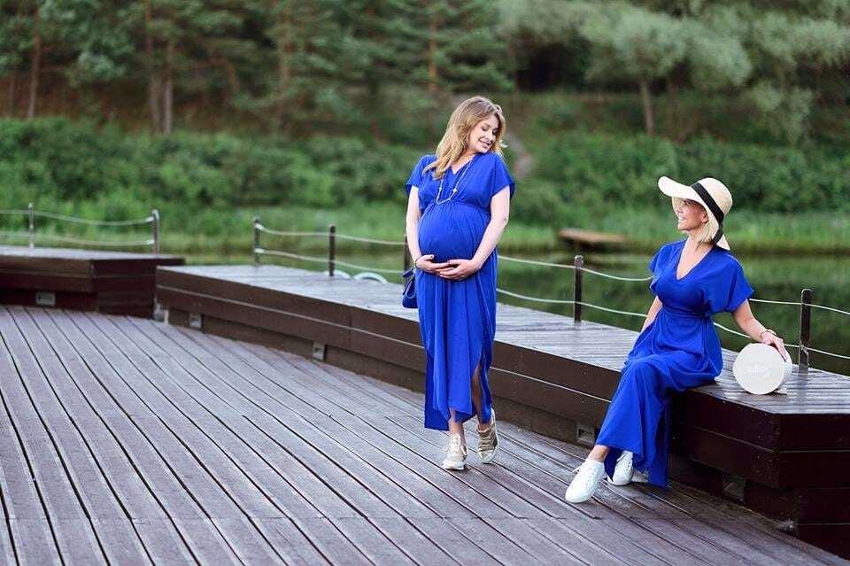 Кравець на останньому місяці вагітності знялася в чуттєвій фотосесії