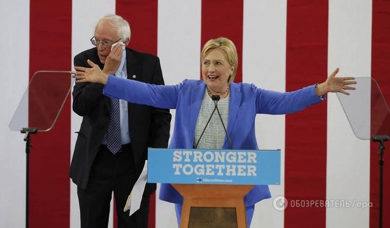 """""""Некоторые из вас будут разочарованы"""": Сандерс призвал голосовать за Клинтон на выборах в США"""