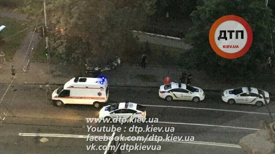 У Києві відбулося дві ДТП із поліцією