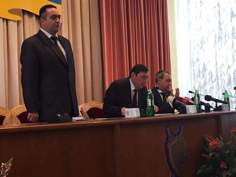 Луценко представил нового прокурора Ривненской области