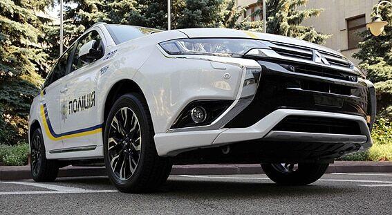 В МВД показали новый эко-кроссовер полицейских