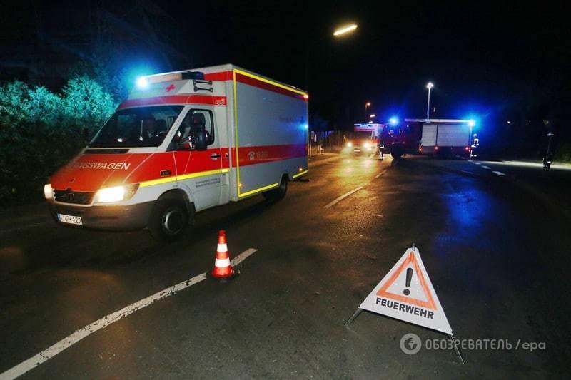 """В Германии беженец с топором и криком """"Аллах Акбар"""" напал на пассажиров поезда"""