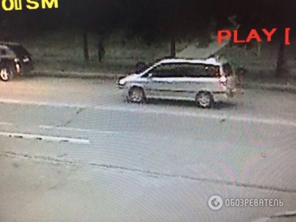 """Похищение чиновника """"Укрзалізниці"""": камеры наблюдения засняли авто, на котором увезли Людмирского"""