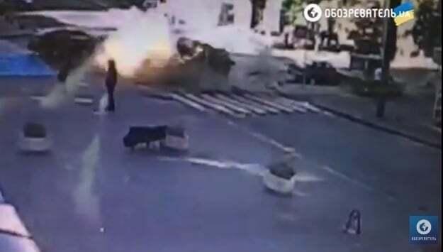 Убийство Павла Шеремета: появилось видео момента взрыва