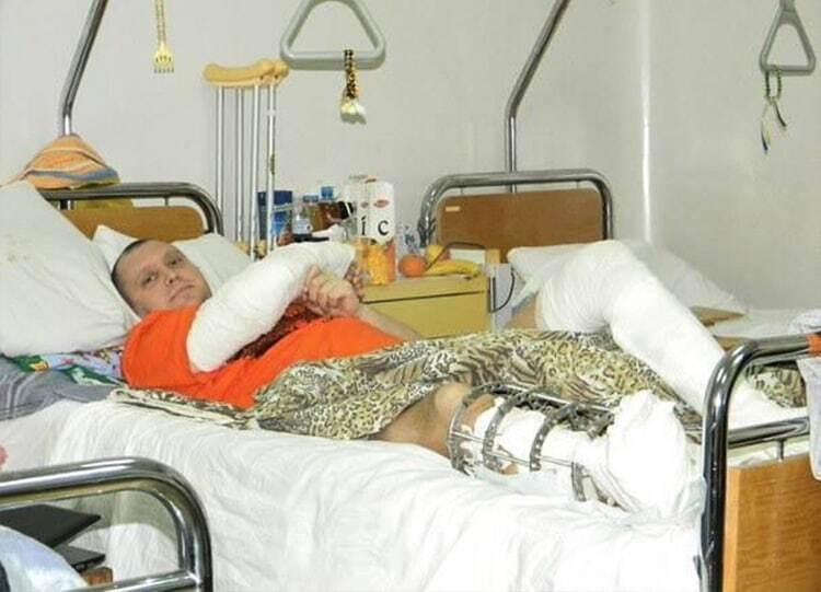 Допоможіть поставити на ноги: волонтери оголосили збір коштів для лікування бійця АТО