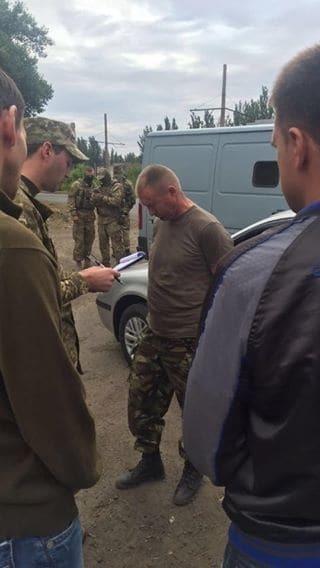 В зоне АТО задержали офицера 53 бригады, продававшего террористам боеприпасы
