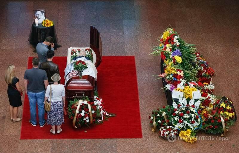 Герої не вмирають: в Киеве простились с Шереметом