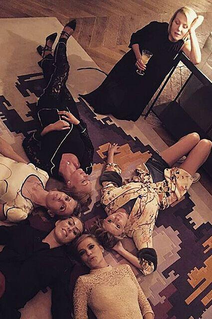 Собчак, Литвинова, Глюкоза оторвались на девичнике у Бондарчук