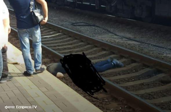 На киевском вокзале поезд переехал человека