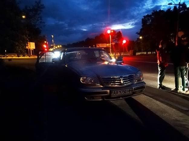 В Киеве по горячим следам задержали автоугонщика