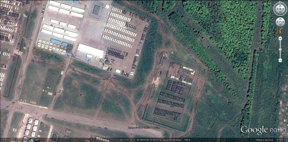 """""""Их там нет"""": появились фото российской военной базы на границе с Украиной"""