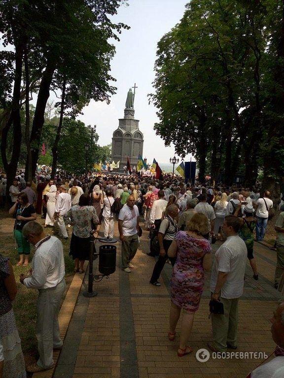 День Хрещення Русі в Києві: усі подробиці, фото, відео
