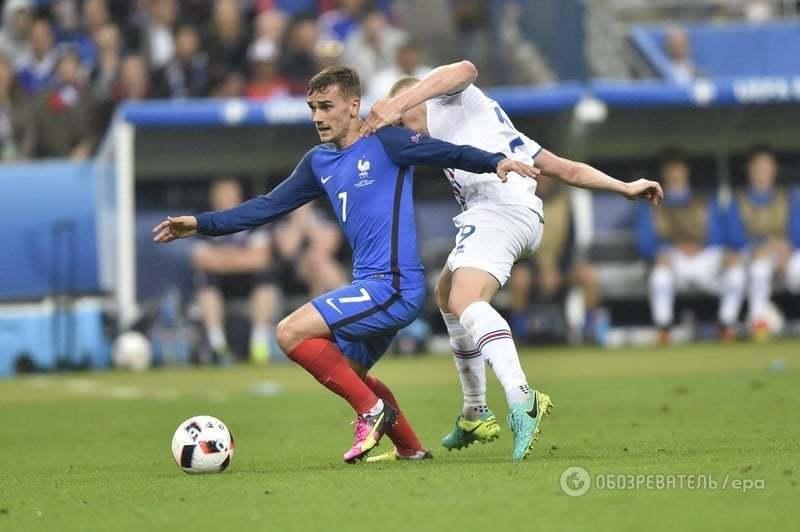 Євро-2016. Франція поставила жирну крапку в ісландській казці