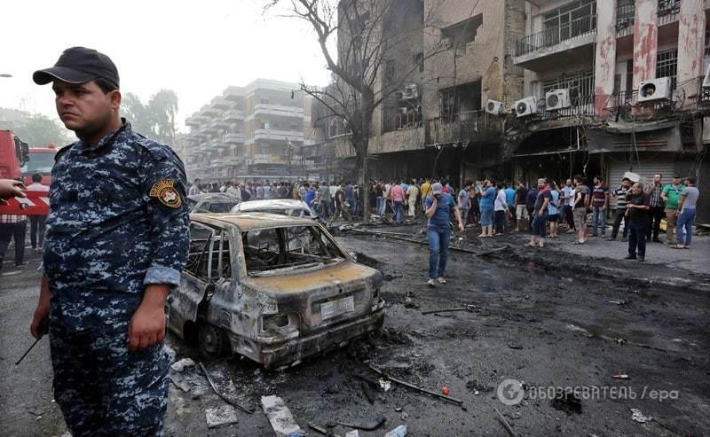 У Багдаді стався подвійний теракт: кількість жертв зросла до 172. Фоторепортаж