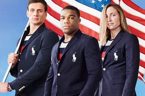 Российские СМИ сравнили форму олимпийской сборной США с флагом РФ