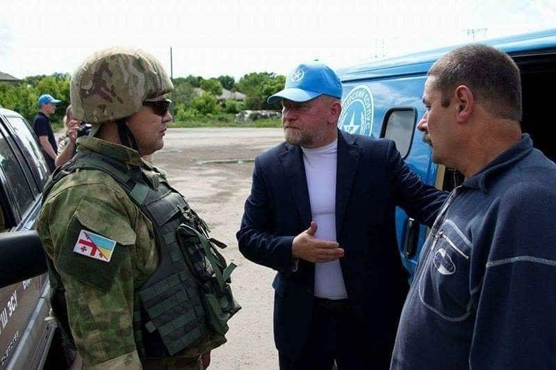 Из плена террористов освобожден украинский военнослужащий