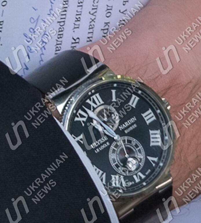 На руці Луценка помітили дорогий годинник: прес-секретар пояснила походження