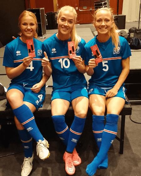 В интернете показали, какие футболистки бывают в Исландии