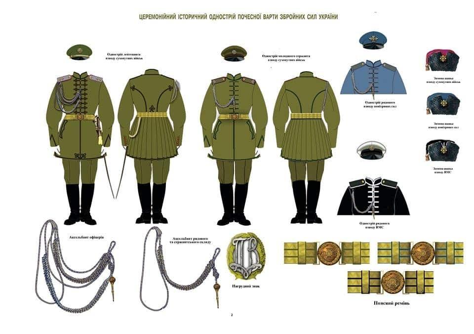 Журналіст опублікував ескізи нової форми української армії
