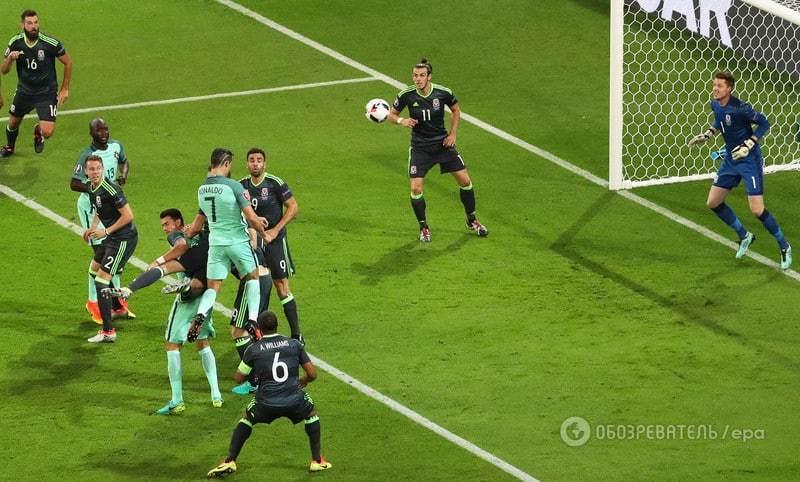 Евро-2016. Португалия красиво обыграла Уэльс и вышла в финал