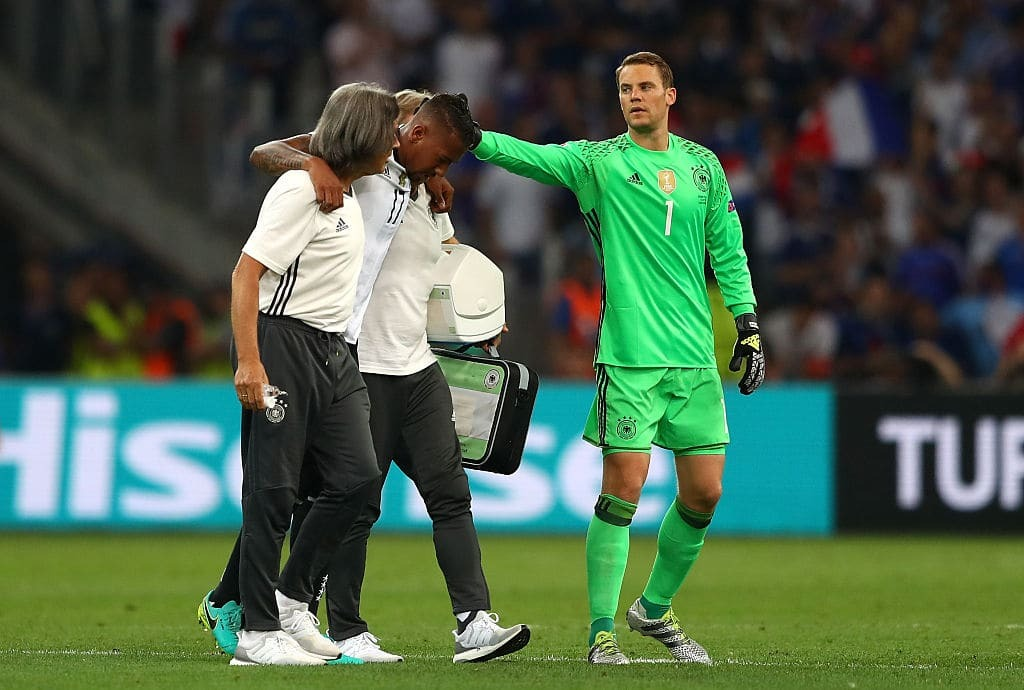 Евро-2016. Франция благодаря судье обыграла Германию и вышла в финал